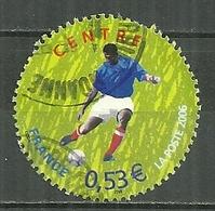FRANCE Oblitéré 3912 Coupe Du Monde De Football En Allemagne 2006 Soccer Le Centre - France