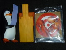 MAC052 / Figurine Pingouins De Madagascar Sautoir / Mc Donalds / 2014 - Figurines