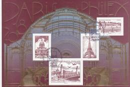 FRANCE 2018 BLOC SALON PARIS PHILEX OBLITERE 1ER JOUR GOMME INTACTE F 5222 - Sheetlets