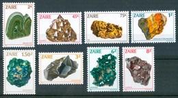 1983 Zaire Minerali Minerals Diamanti Gemme Gems MNH** Y77 - Minerals