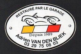 GARAGE ADRIEN VAN DEN BLIEK  - REF: 211 - Stickers