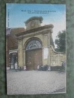 HUY - LA PORTE DES CROISIERS 1906 ( Scan Recto/verso ) - Huy