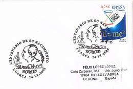 30223. Carta LUARCA (Asturias) 2005. Severo Ochoa. Medicina, Fisiologia - 1931-Hoy: 2ª República - ... Juan Carlos I