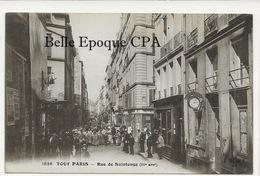 75 - TOUT PARIS ( Noir ) 03 - #1826 - Rue De Saintonge ++++ Coll. F. FLEURY ++++ RARE - District 03