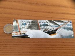 """Marque-page """"Art Populaire Des Marins De La Pointe De Bretagne - éditions Dialogues"""" (voilier) - Marque-Pages"""