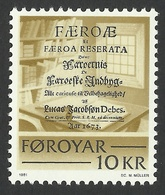 Faroe Islands, 10 Kr. 1981, Sc # 69, Mi # 69, MNH. - Faroe Islands