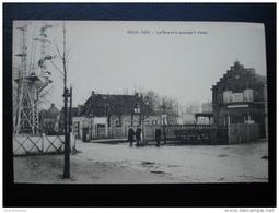 Cpa/pk Mortsel  Vieux - Dieu La Gare Et Le Passage à Niveau - Mortsel
