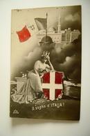 1911  IL SOGNO ITALIA  Guerra Italo-Turca   WW1  WAR    MILITARE COLONY   A BITONTO  BARI - Guerra 1939-45