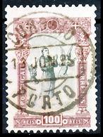 !■■■■■ds■■ Portugal 1895 AF#120ø St. Anthony 100 Réis First Day (d12268) - Usado