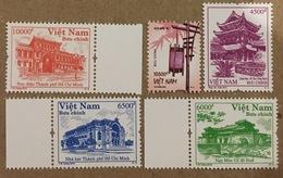 Lot Of 05 Vietnam Viet Nam MNH Perf REPRINT Stamps 2016 : Handicraft / Architecture - Vietnam
