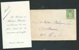 Faire Part De La Naissance De Marcel Perivier Le 13/05/1899   AH28610 - Nacimiento & Bautizo