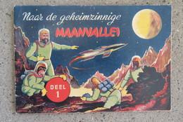 Plakboek Prentjes Prentjesboek Chromo Smith's Chewing Gum Science Fiction Maanvallei Astronaut - Publicité