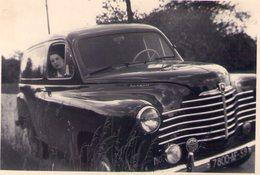 RENAULT PRAIRIE FOURGON TOLE - N/B - 8.7X6.2 - Années 40/50 ? - Automobiles