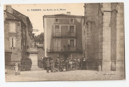 12 Vabres, La Sortie De La Messe (A3p10) - Vabres