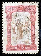 !■■■■■ds■■ Portugal 1895 AF#118ø St. Anthony 75 Réis FOURNIER (x12269) - Usado