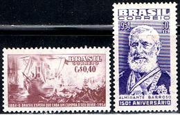 BRA 320 // Y&T  590,591 // 1954 - Brésil