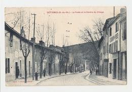 13 Septèmes, La Poste Et Le Centre Du Village.Carte Inédite (A3p10) - France