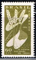 BRA 322 // Y&T  595 // 1954 - Brazil