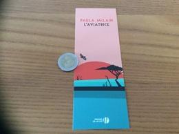 Marque-page «L'AVIATRICE - PAULA McLAIN - éditions PRESSES DE LA CITÉ» - Marque-Pages