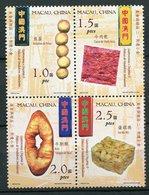 Macao ** N° 1115 à 1118 En Bloc De 6 - Gastronomie Et Patisseries  - - 1999-... Chinese Admnistrative Region