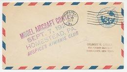 Cover / Postmark USA 1929 Model Aircraft Contest - Kiwanis Club - Aerei