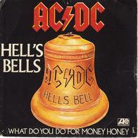 "AC/DC ""HELL'S BELLS / WHAT DO YOU DO FOR MONEY HONEY"" - Vinyl Records"