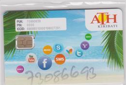 KIRIBATI GSM - Télécartes