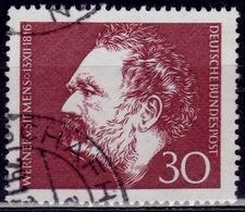 Germany, 1966, Werner Von Siemens, 30pf, Sc#968, Used - [7] Federal Republic