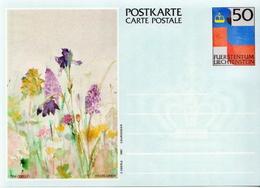 Liechtenstein 3 Mint Postal Stationery Cards - Stamped Stationery