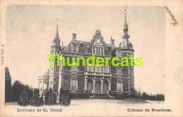 CPA SINT TRUIDEN SAINT TROND ENVIRONS DE CHATEAU DE BRUSTHEM - Sint-Truiden