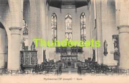 CPA RIJCKEVORSEL RIJKEVORSEL RYCKEVORSEL ST JOSEPH  DE KERK INTERIEUR - Rijkevorsel