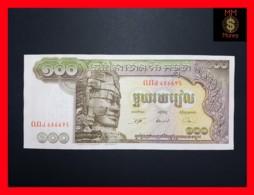 CAMBODIA 100 Riels  1957-1975  P. 8 C   Sig. 2  AU - Cambodia