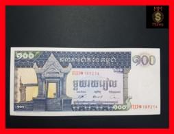 CAMBODIA 100 Riels  1963-1972  P. 12 B  UNC - Cambodia
