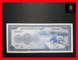 CAMBODIA 100 Riels  1956-1972  P. 13  UNC - Cambodia