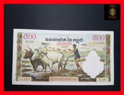 CAMBODIA 500 Riels  1958-1970  P. 14 D UNC - - Cambodge