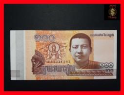 CAMBODIA 100 Riels 2014  P. 65 UNC0.60 - Cambodia