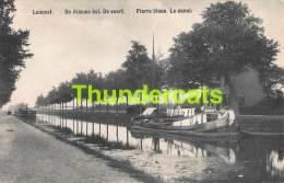CPA LOMMEL DE BLAUWE KEI DE VAART PIERRE BLEUE LA CANAL - Lommel