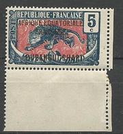 OUBANGUI N° 46 NEUF** LUXE SANS  CHARNIERE  / MNH - Oubangui (1915-1936)