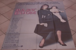 AFFICHE CINEMA ORIGINALE FILM BABY BOOM + 12 PHOTOS EXPLOITATION Diane KEATON SHYER 1987 TBE - Posters