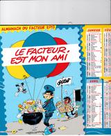 GASTON LAGAFFE - Calendrier Des Postes - Calendriers