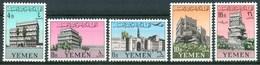 1961 Yemen Kingdom  Architetture Architecture  MNH** Y103 - Yemen