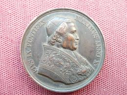 VATICAN Médaille PAUL IX Date 1854 - Royal / Of Nobility