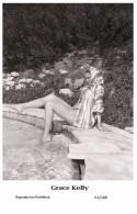 GRACE KELLY - Film Star Pin Up PHOTO POSTCARD- Publisher Swiftsure 2000 (61/188) - Postales
