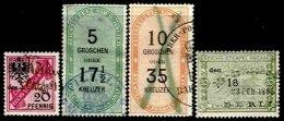 GERMANY, Börsenumsatzsteuer, Used, F/VF - Allemagne
