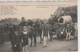 SANDILLON  -  CAVALCADE  AU  PROFIT  DE  L  '  AVIATION  MILITAIRE  24  MARS  1912  -  CHAR  DU  BOEUF  GRAS - France