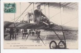 CPA AVIATION Meeting D'Aviation De Nice Rawlinson - Airmen, Fliers