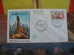 Bartholdi - (68) Colmar - 13.6.1959 - FDC 1er Jour Coté 8€ - 1950-1959