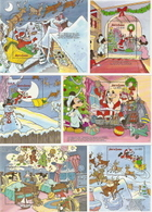 Sierra Leone,  Scott 2014 # 1297-1302,  Issued 1990,  Set Of 6 S/S,  MNH,  Cat $ 27.00,  Disney - Sierra Leone (1961-...)