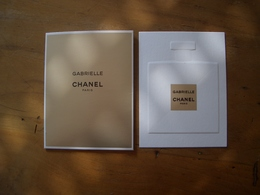 Carte Chanel Gabrielle A/patch Et Pochette - Modern (from 1961)