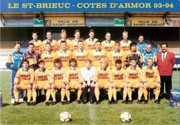 Saint Brieuc * Le Stade Briochin * Football ( Scan Recto Et Verso ) - Saint-Brieuc